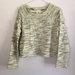 Billabong casual sweater with ruffled side detail